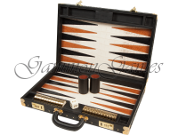 Backgammon Boards of Leather